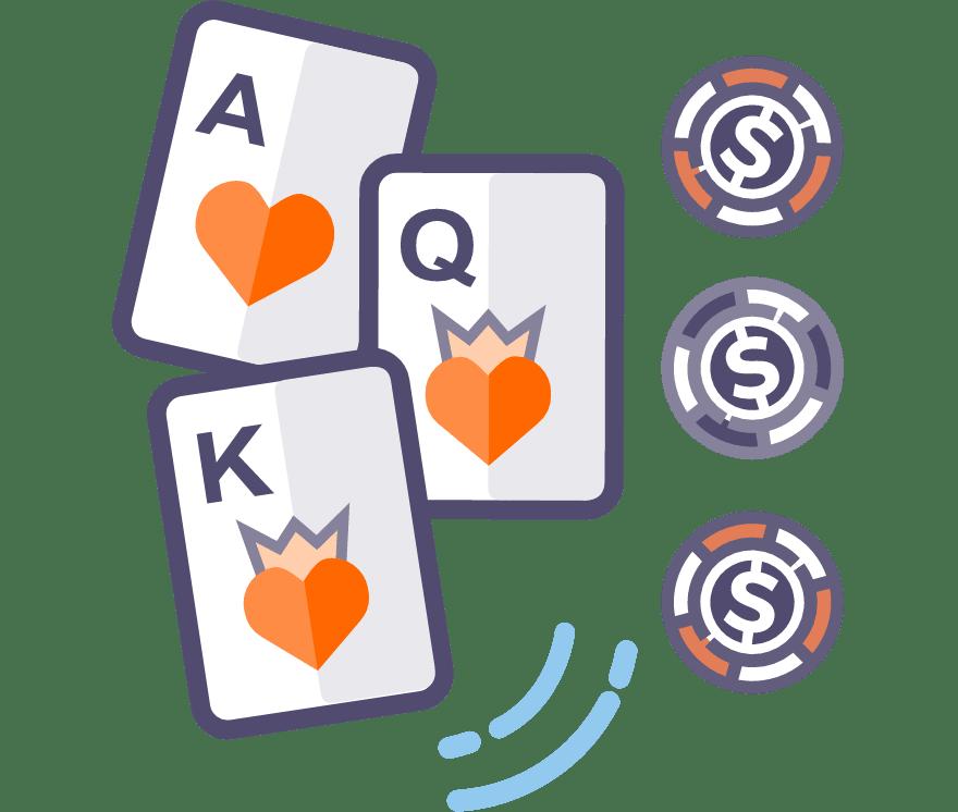 Poker Tiga Kad Kasino Dalam Talian Terbaik pada tahun 2021