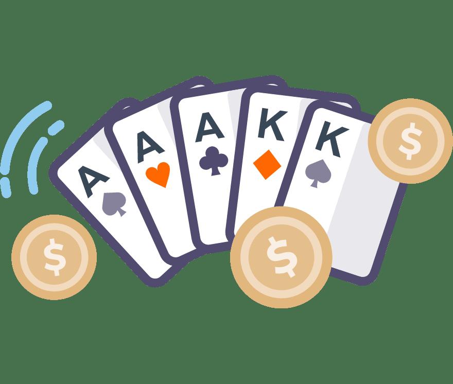 Poker Kasino Dalam Talian Terbaik pada tahun 2021