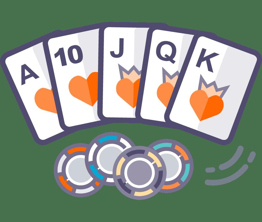 Texas Holdem Kasino Dalam Talian Terbaik pada tahun 2021